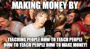 teaching people how to make money